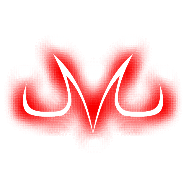 Majin m png. Awesome symbol design on