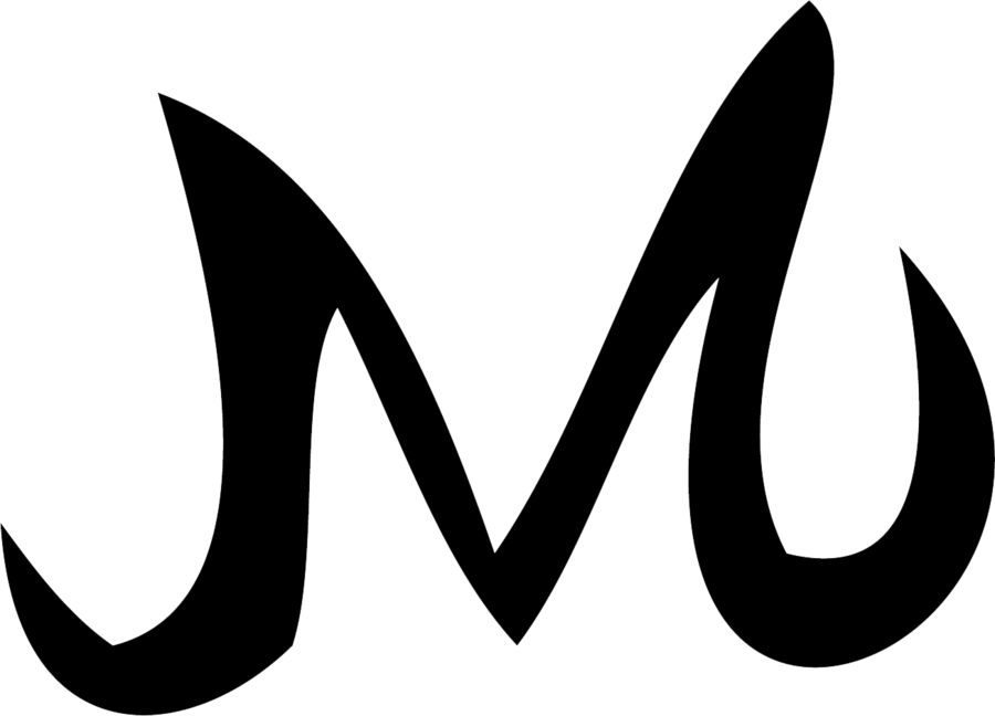 Majin m png. Symbol by great saiyaman