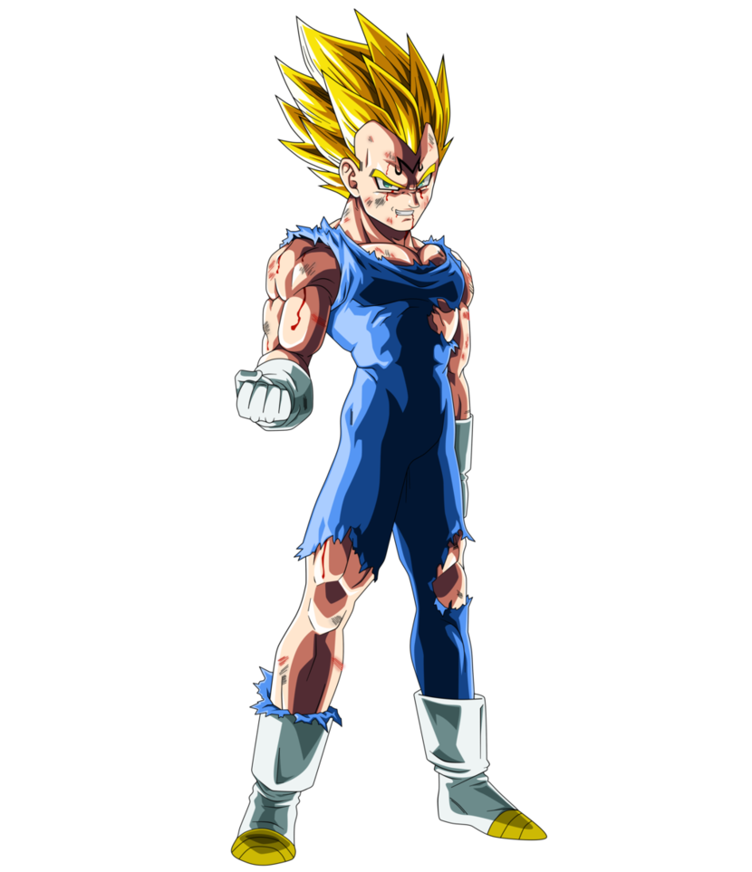 Majin vegeta png. By saodvd on deviantart
