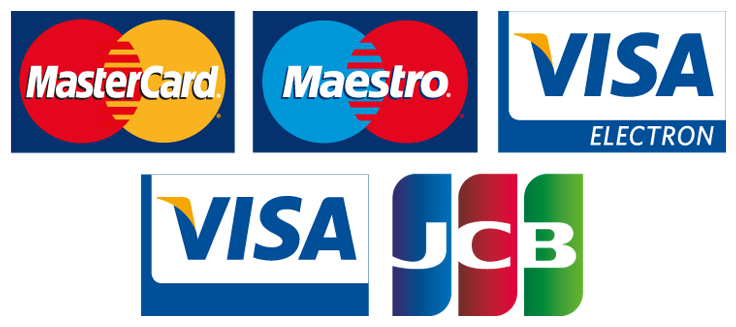 Accepted cards png. Pet care service payments