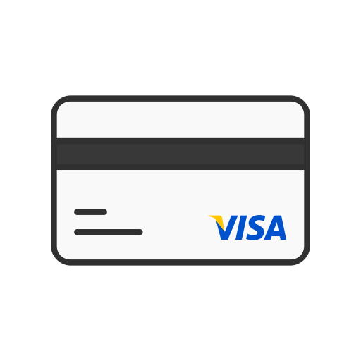Major credit cards icon png. Iconfinder colored by vectto