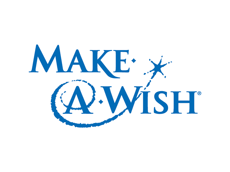 Make a wish foundation logo png. California or email mel