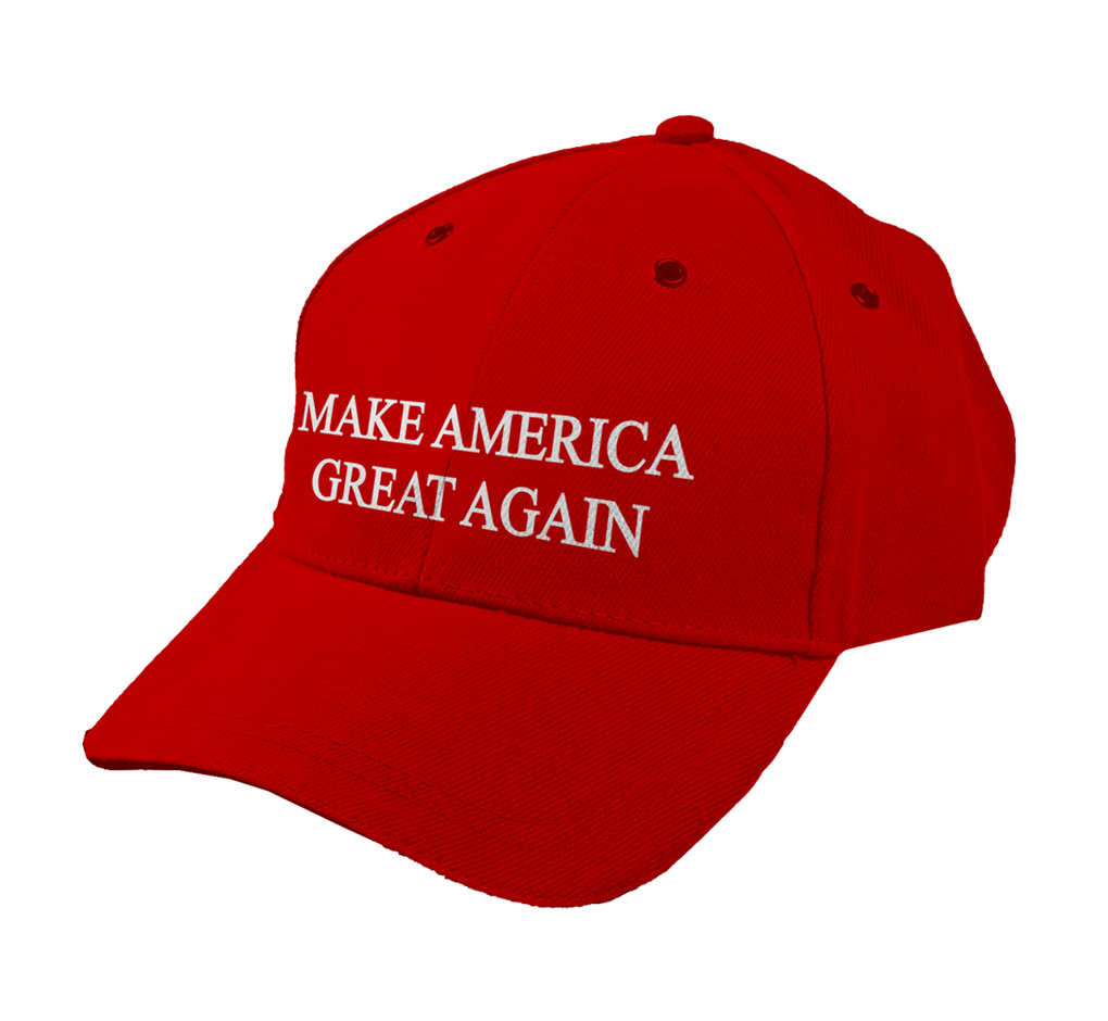 Make america great again hat png. It s on a