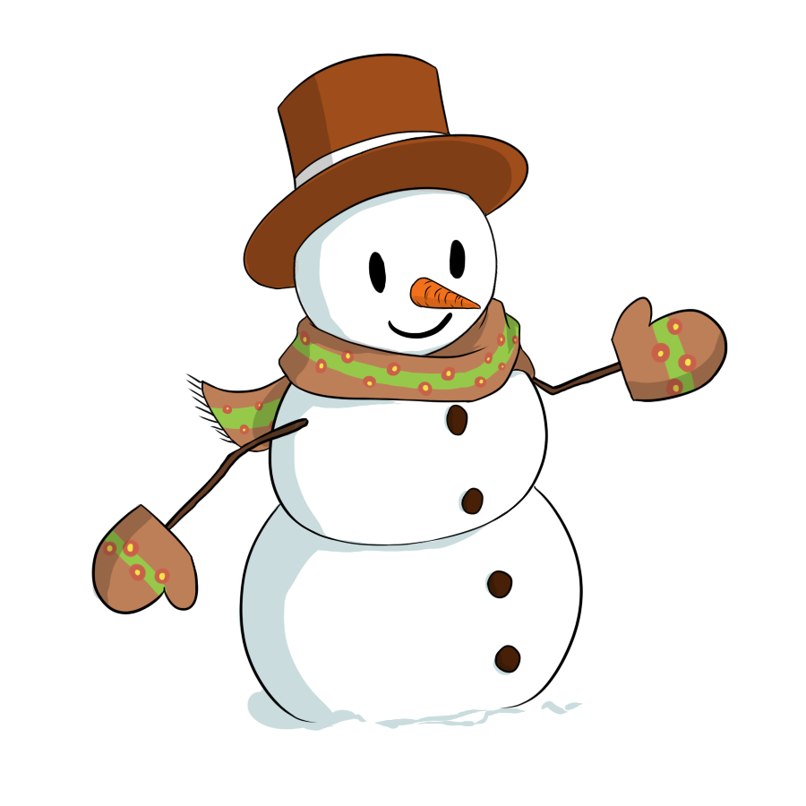 Merry christmas clipart snowman. Free download clip art
