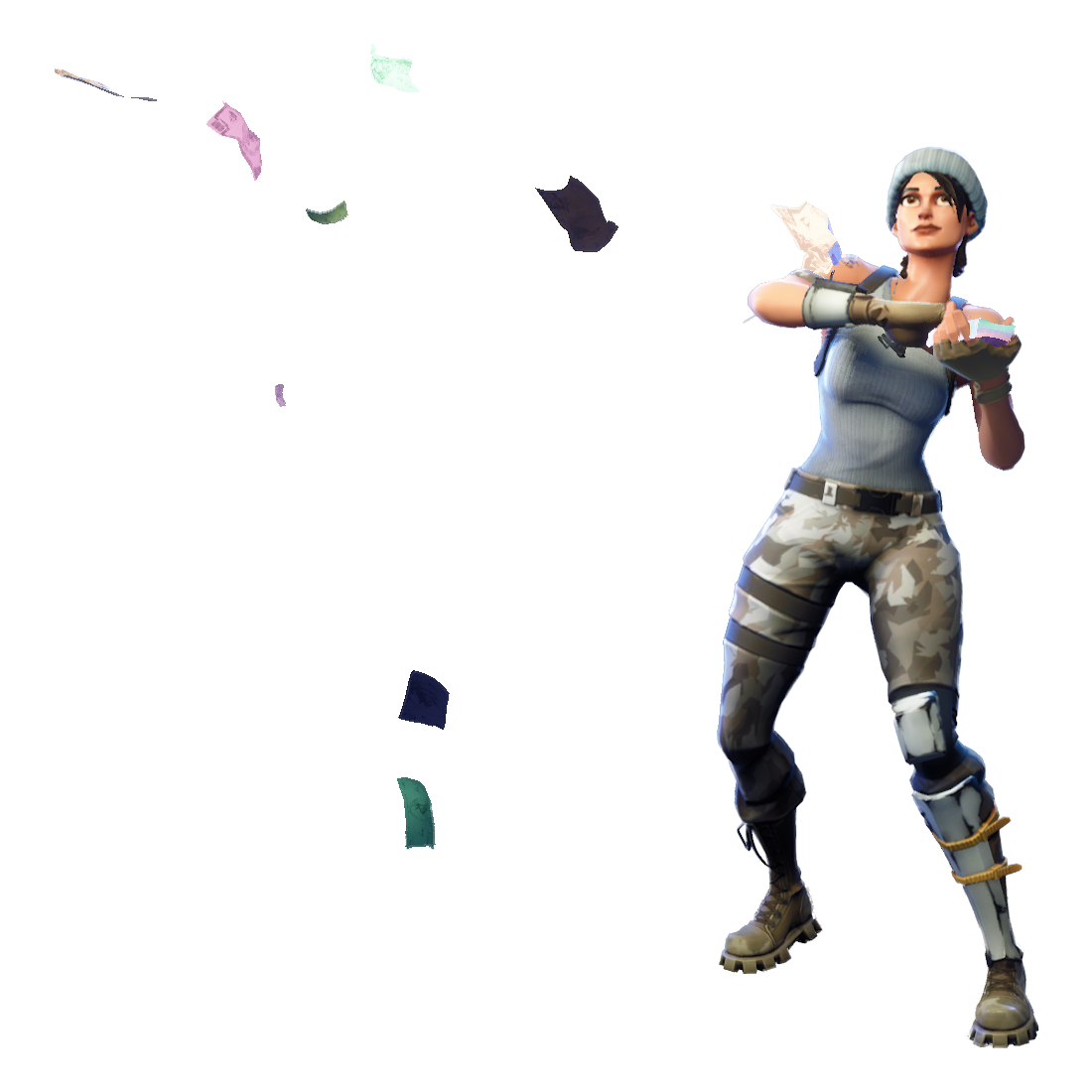 Take the l fortnite png. Make it rain image