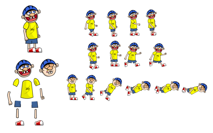 Make sprite sheet from png. You the of d
