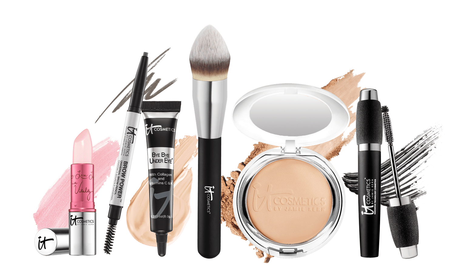 Makeup background png. It cosmetics kit transparent