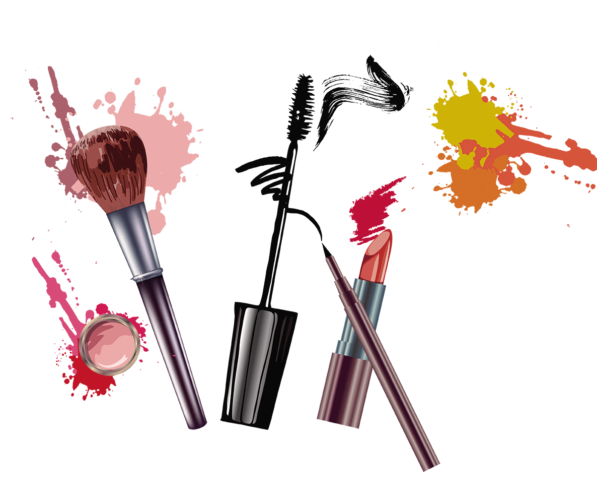Makeup background png. Adobe illustrator fundal poster