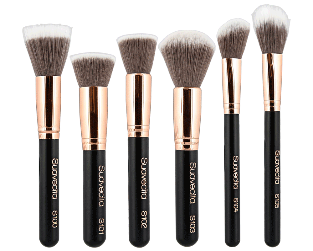 Makeup brushes png. Face brush set suavecito