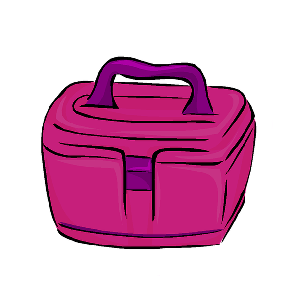 Makeup clipart makeup bag. Must have items for