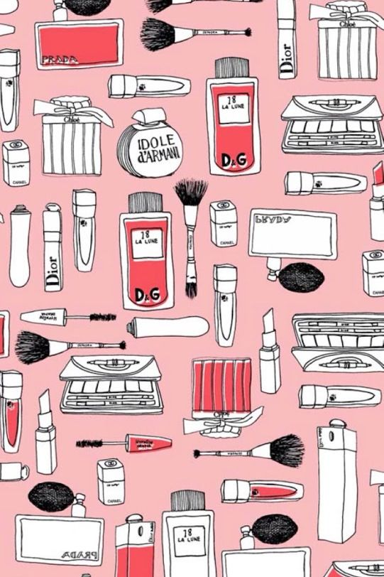 Makeup clipart makeup wallpaper. Wallpapers iphone pinterest