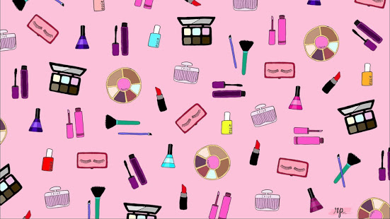 Makeup clipart makeup wallpaper. Pink apps on google