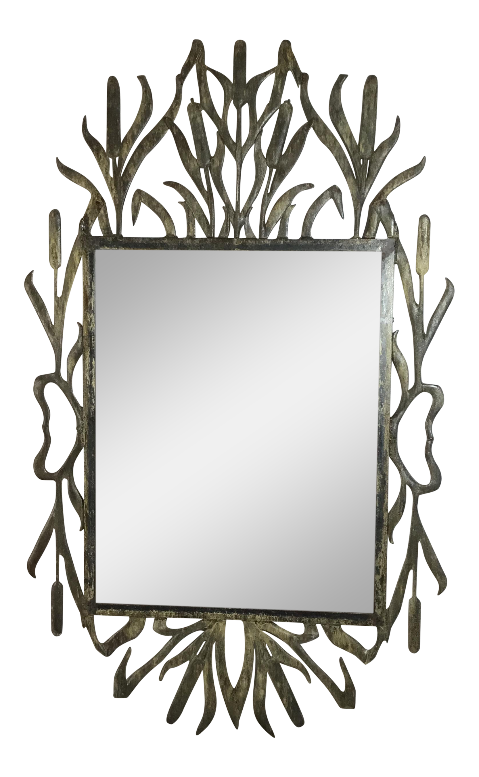Makeup clipart rectangle mirror. Abstract hollywood regency iron