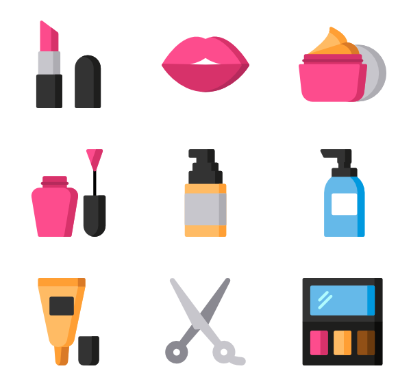 Makeup icon png. Packs vector svg