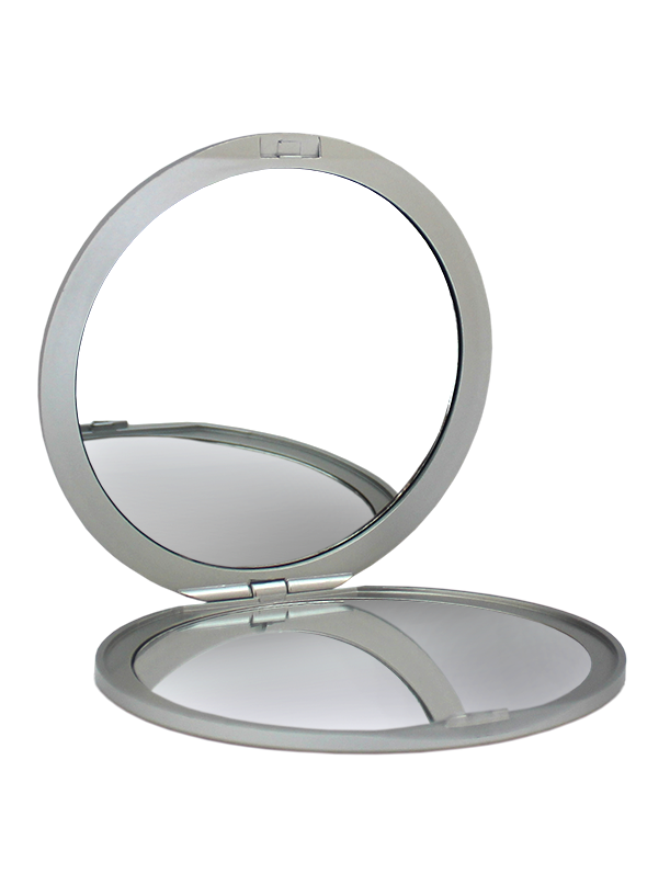 Vanity mirror png. Round compact x extra
