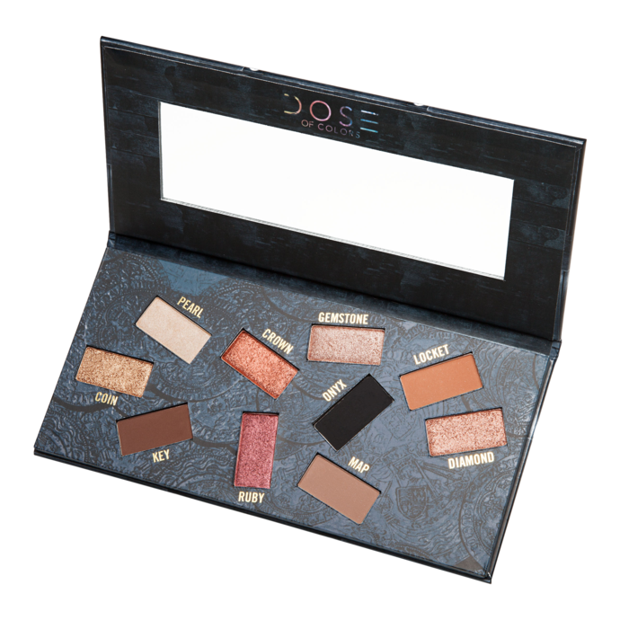 Makeup palette png. Eyeshadow dose of colors