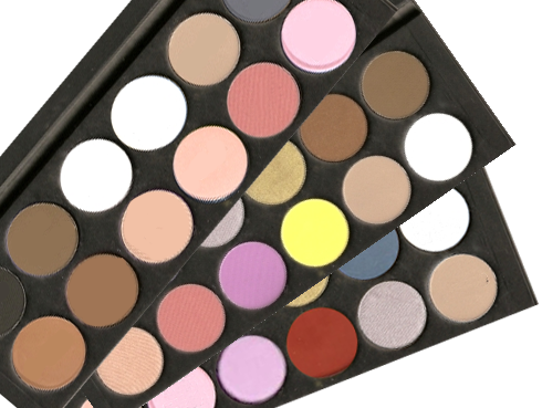 Makeup palette png. La femme eye shadow
