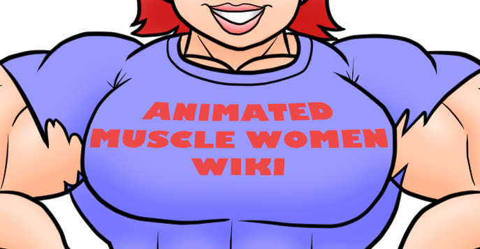 Muscle comic png. Image animated women wiki