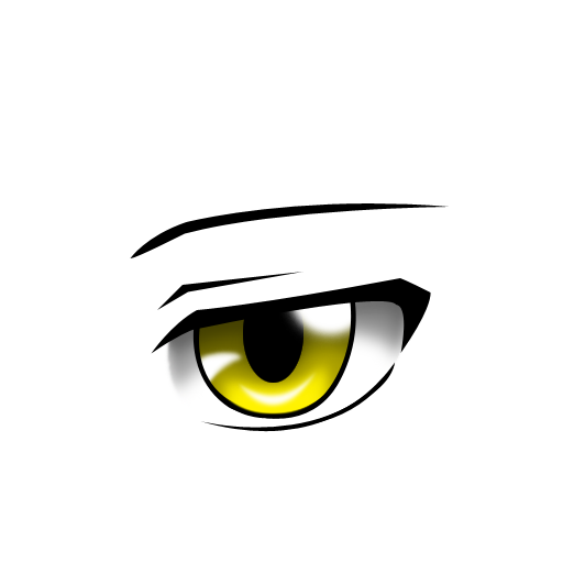 Male anime eyes png. Attack on titan custom