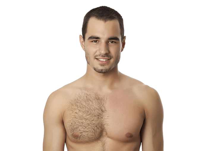 Male chest hair png. Permanent removal for men