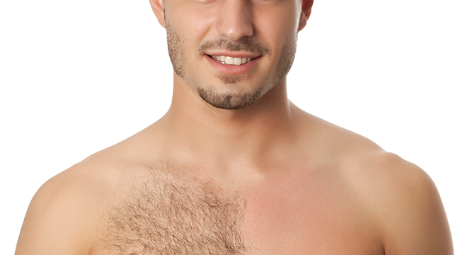 Male chest hair png. Waxing for men mississauga