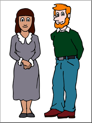 Male clipart 1 person. Clip art people woman
