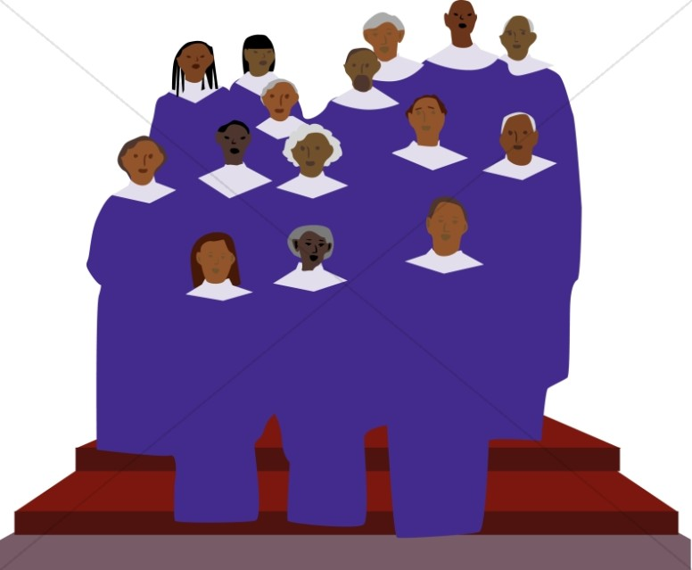 Anniversary clipart choir. Church graphic image african