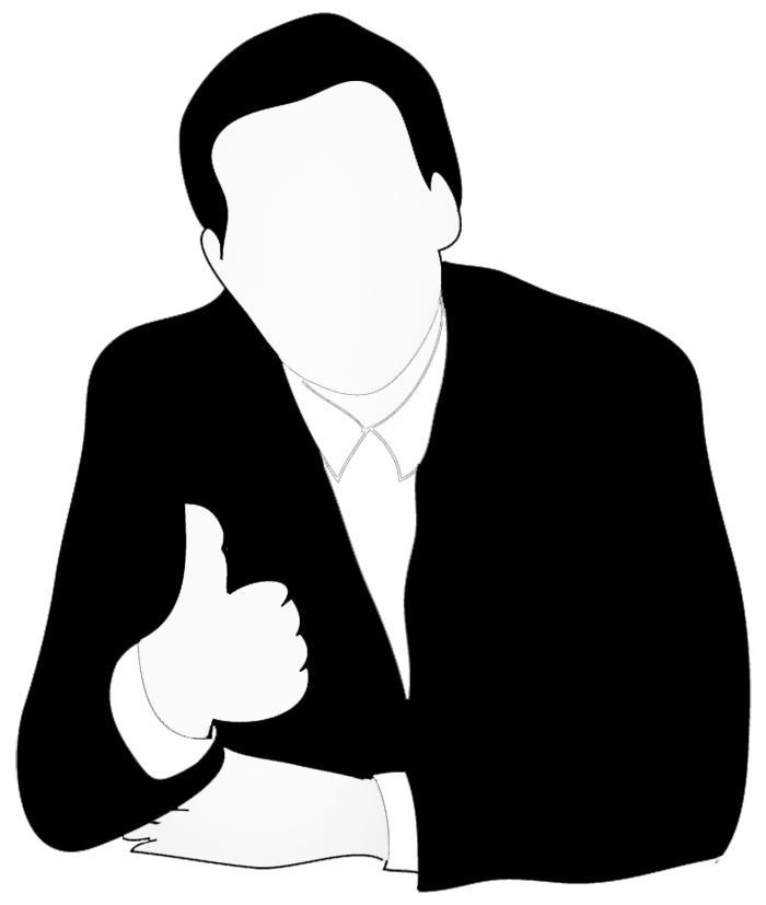 Male clipart transparent. Silhouettes of people silhouette