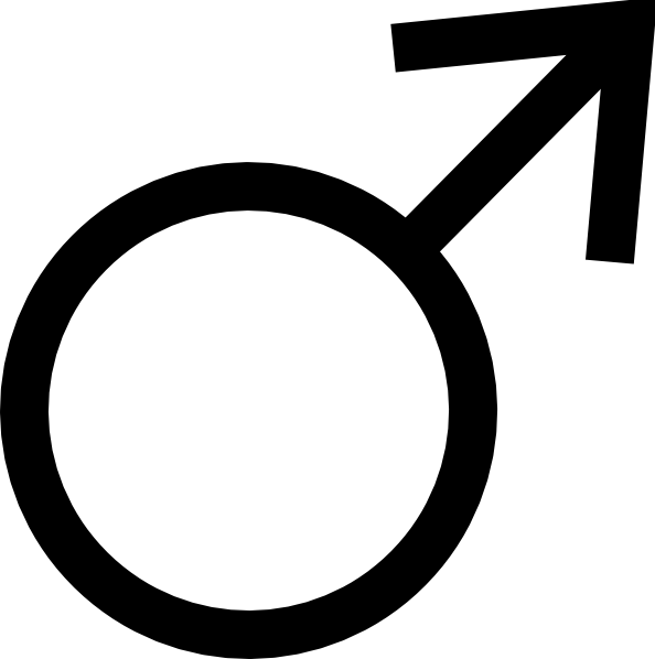 Male sign png
