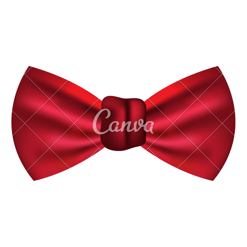 Male vector bow tie. Fashion icon icons by