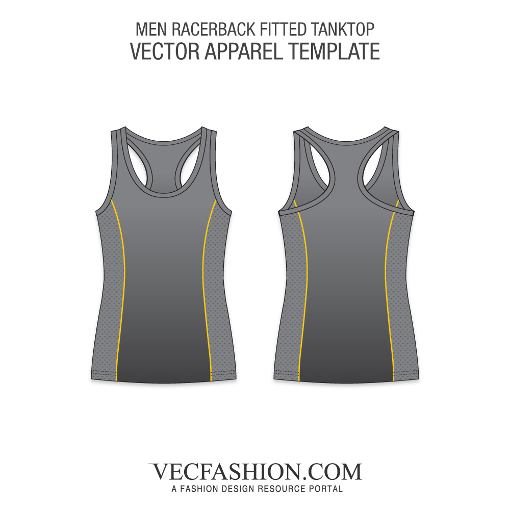 Male vector tank top. Men s fashion flats