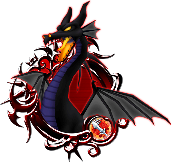 Maleficent dragon png. Kingdom hearts unchained wiki
