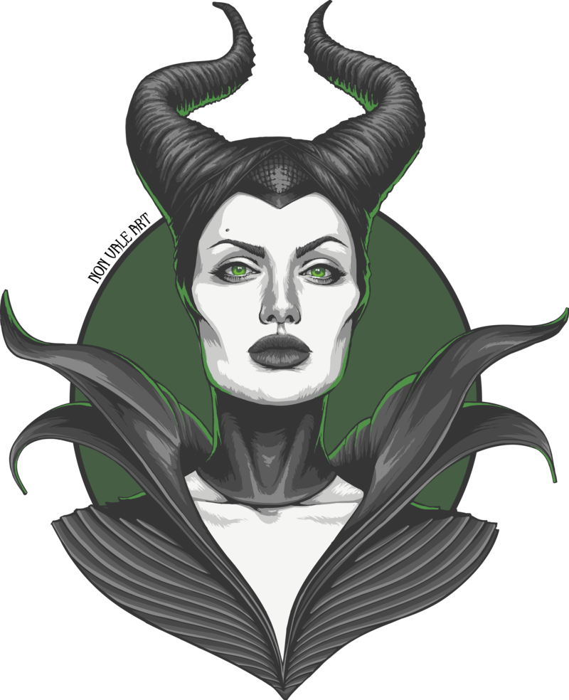 Maleficent vector horns. Valeria rossi artwork pinterest