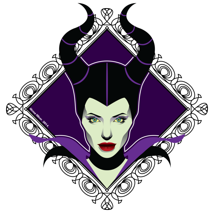 Maleficent vector horns. By alyoh on deviantart