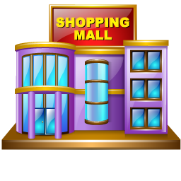 Mall clipart. Shopping png image