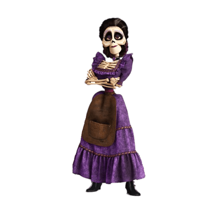 Mama coco png. Transparent images page stickpng