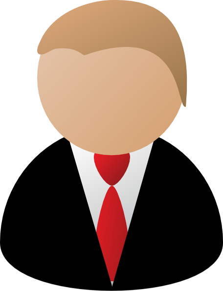 Businessman clipart png. Business man clip art