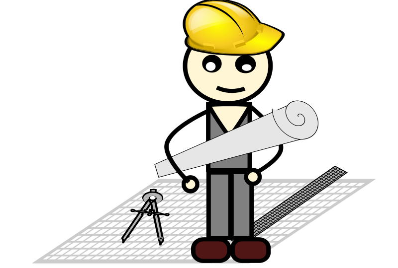 Architect clipart. Free with compass and picture royalty free