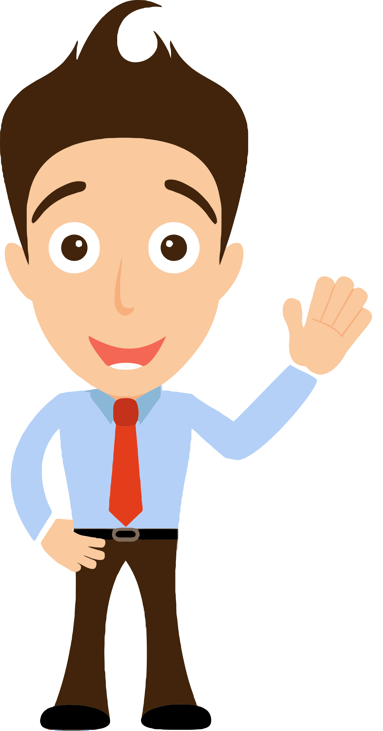 Man clipart png. Collection of office