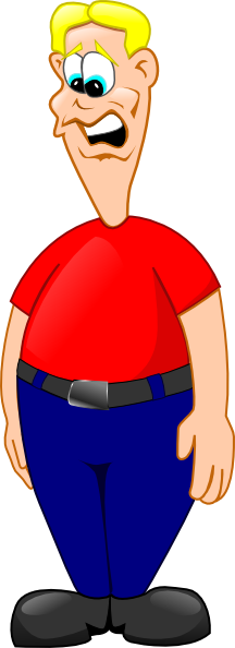 Man clipart worried. Free cliparts download clip