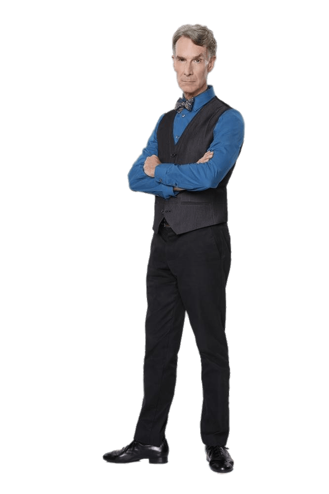 Man crossing his arms png. Bill nye crossed transparent