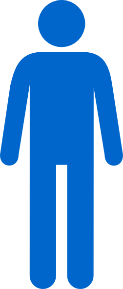 Man icon png. Symbol of icons vector