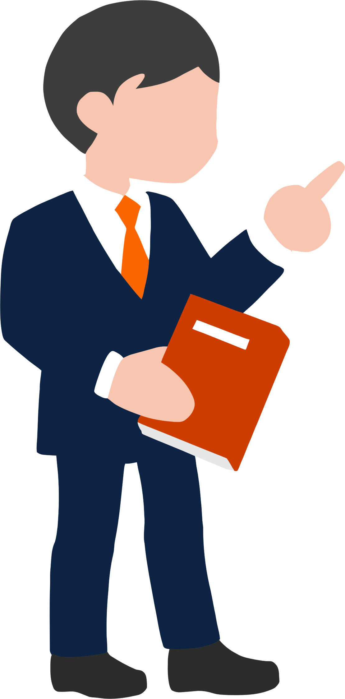 Man in suit cartoon png. Collection of clipart
