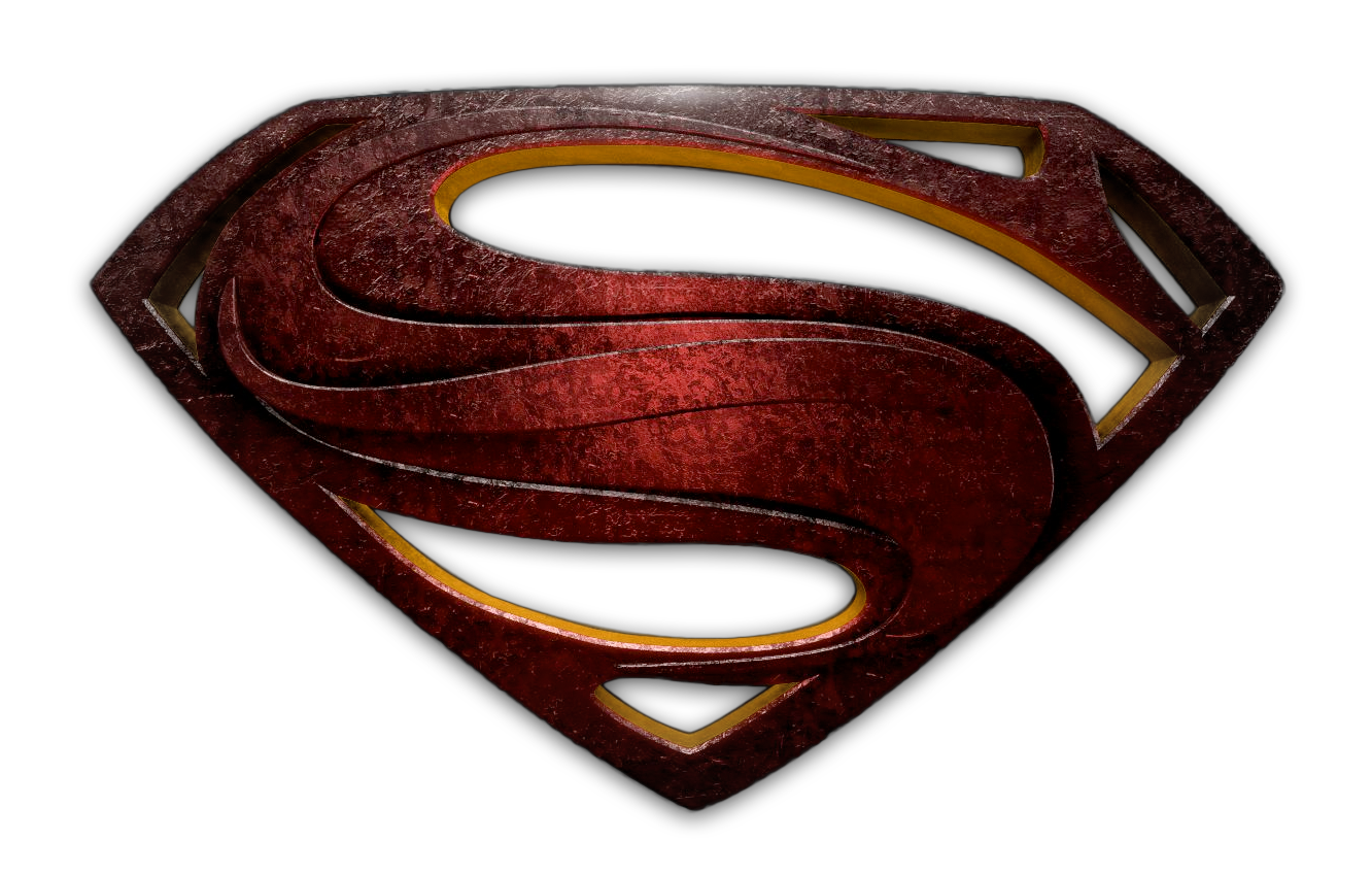 Man of steel logo png. Image superman symbol logopedia