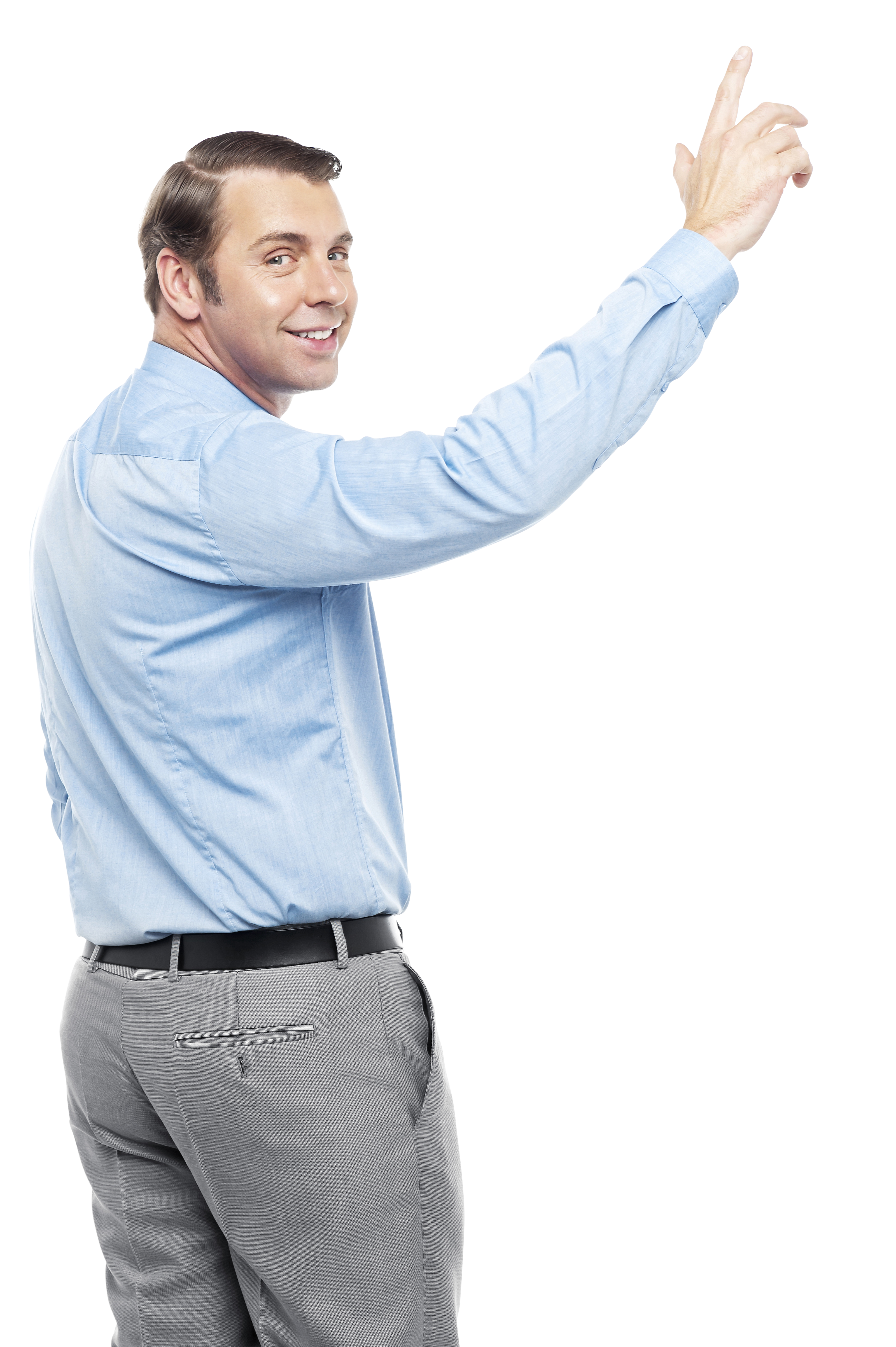 Man pointing finger png. Up royalty free images