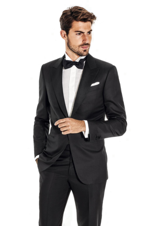 lapel clip mens suit