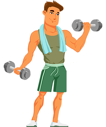 Man vector png. Mascot animate save on