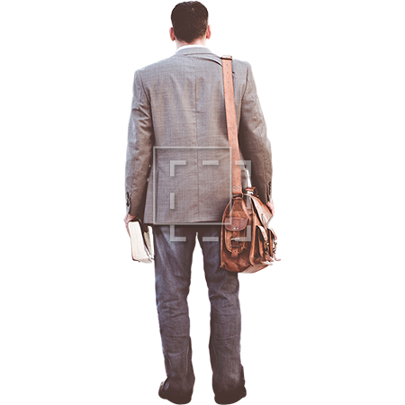 Person walking away png. Man in sportcoat and