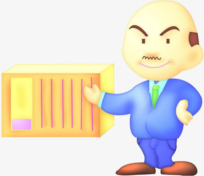 Manager clipart administrator. Warehouse uncle png image