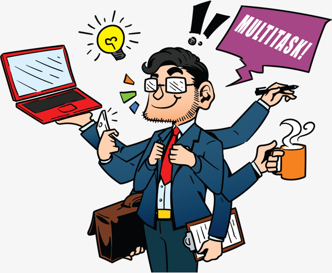 Manager clipart administrator. The is busy administration